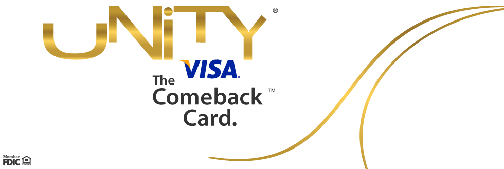 Bank Loans For People With Bad Credit >> Secured Visa Credit Card | UNITY Visa - OneUnited Bank
