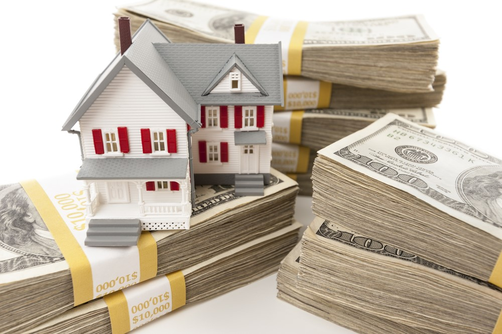 House on Stacks of Money