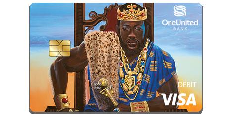 The King Visa Debit Card | OneUnited Bank