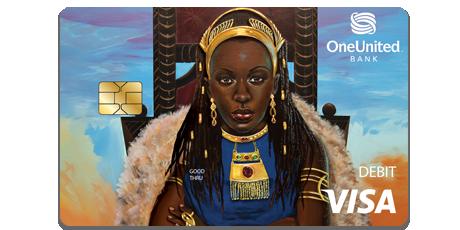 The Queen Visa Debit Card | OneUnited Bank