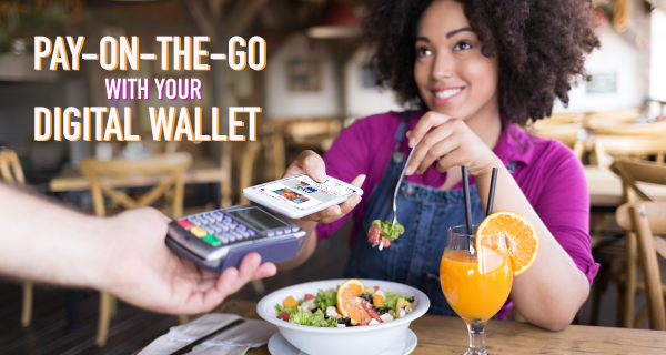 Pay-On-The-Go With Your Digital Wallet   OneUnited