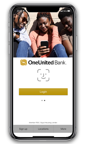 Mobile App   OneUnited Bank