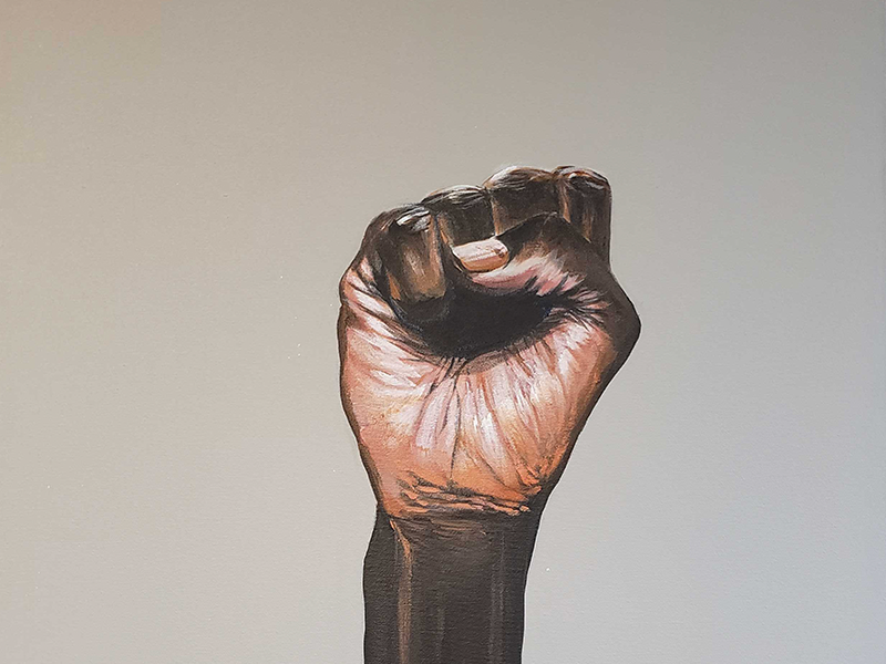 Fist Painting | OneUnited bank