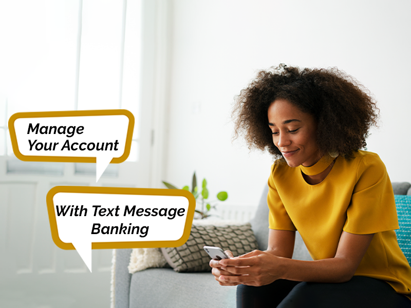 Introducing Text Message Banking